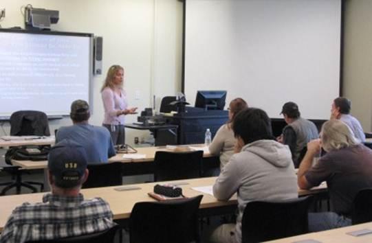 career path services navigators steer students into aerospace