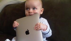baby-eating-laptop